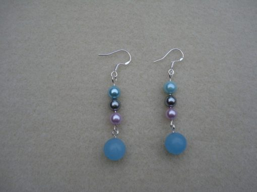 Blue Aventurine Earrings
