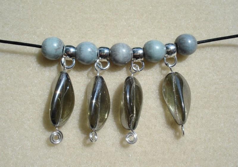 Czech Glass Bead Bracelet