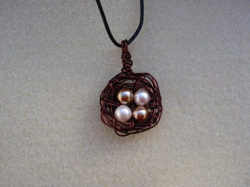 Birds Nest Necklace