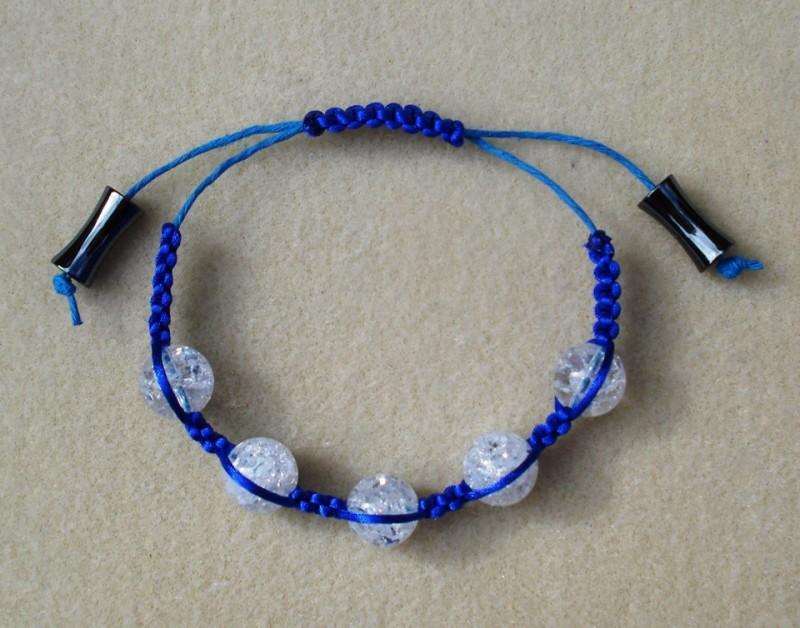 Crackle Quartz Bracelet