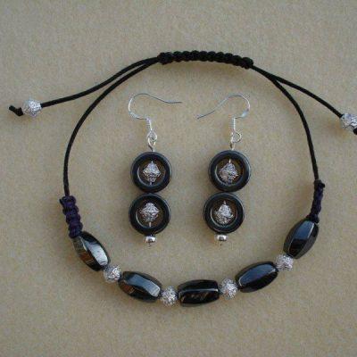 Hematite Jewellery Set