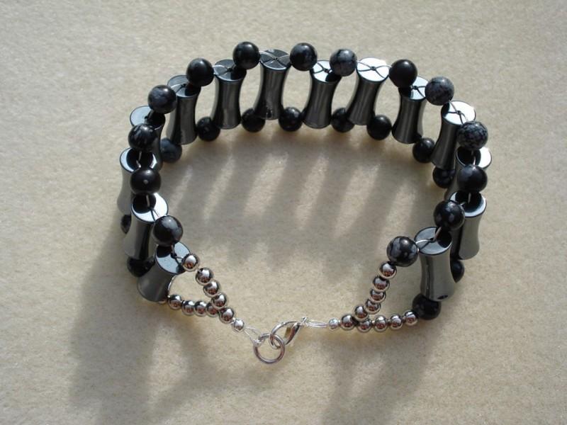 Hematite Mens Bracelet