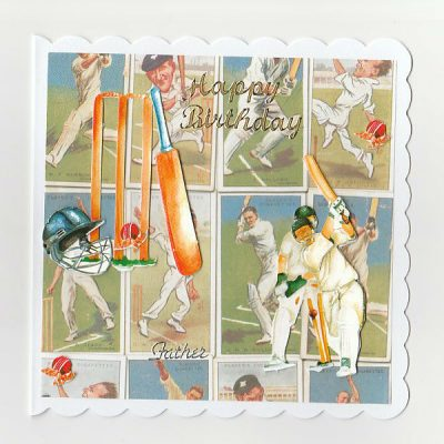 Cricket Birthday Card