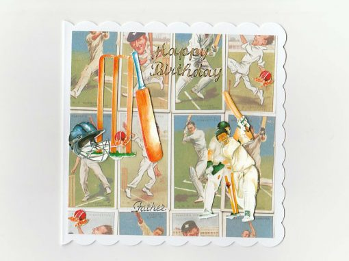 Cricket Birthday Card