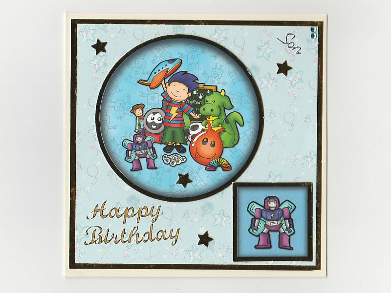 Birthday Card Son