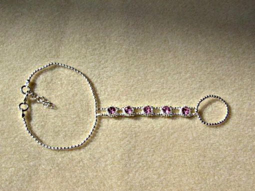 Rhinestone Slave Bracelet