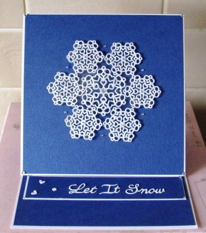 Handmade Snowflake Easel Card Tips