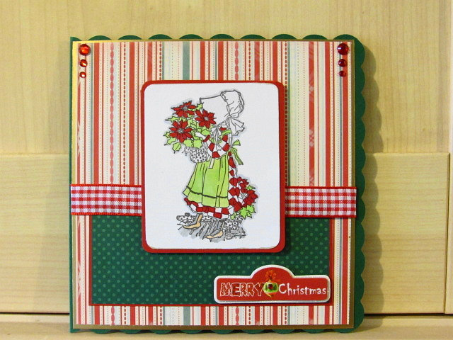 Holly Hobbie Christmas card