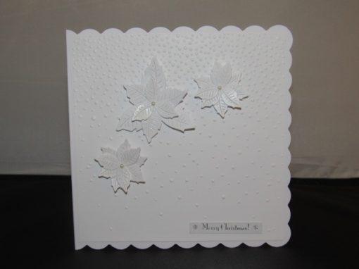 Christmas Poinsettia Card