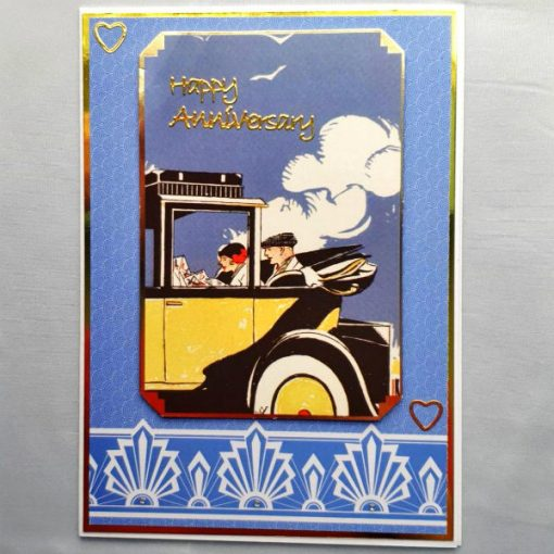 Art Deco Anniversary Card 011