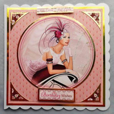 Art Deco Birthday Card 021