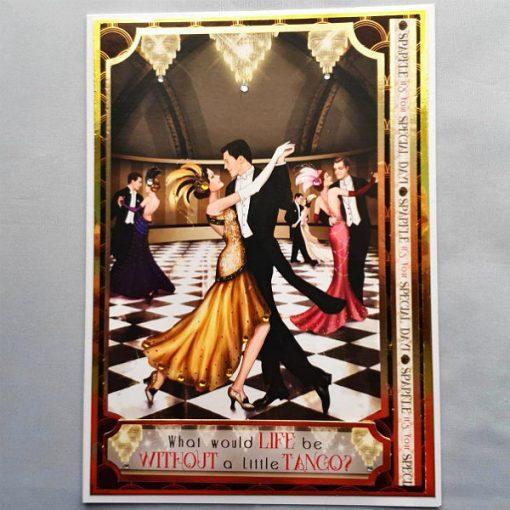 Art Deco Anniversary Card 007