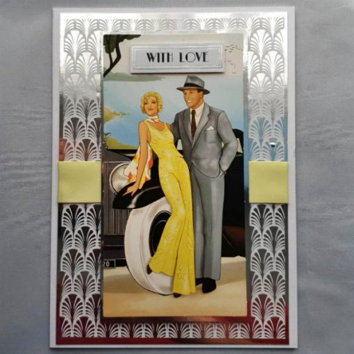 Art Deco Birthday Card 020