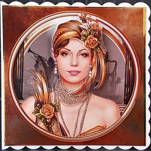 Art Deco Birthday Card 013