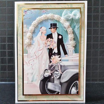 Handmade Wedding Day Card 003