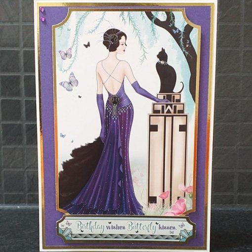 Art Deco Birthday Card 022