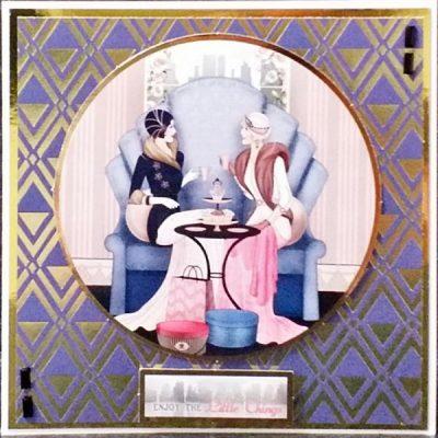 Art Deco Birthday Card 024