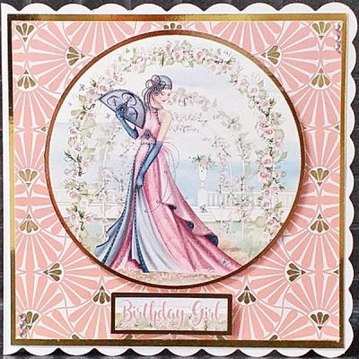 Art Deco Birthday Card 025
